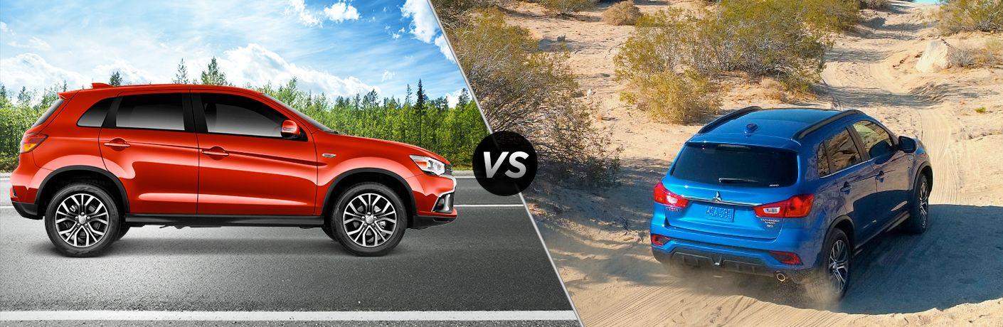 2018 Mitsubishi Outlander Sport ES 2.0 vs SEL 2.4