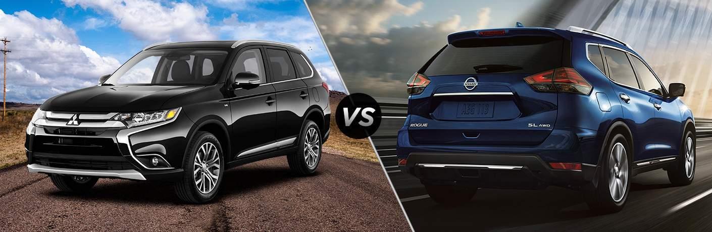 2018 Mitsubishi Outlander vs 2018 Nissan Rogue