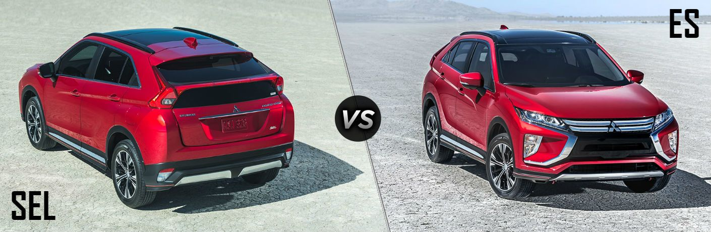 2018 Mitsubishi Eclipse Cross ES vs SEL