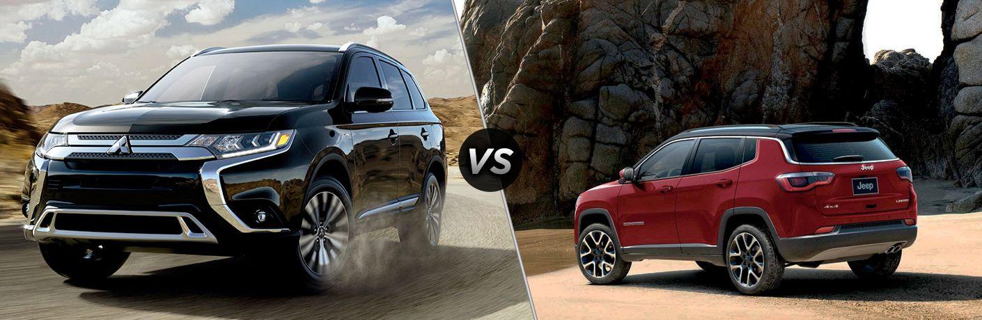 2019 Mitsubishi Outlander vs 2019 Jeep Compass