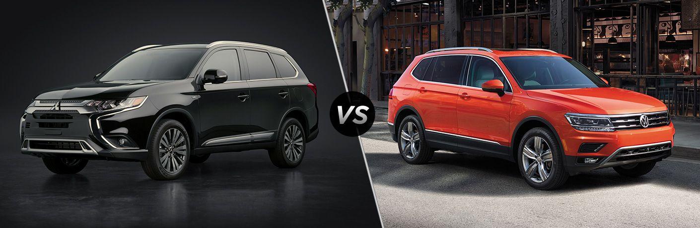 2020 Mitsubishi Outlander vs 2020 Volkswagen Tiguan