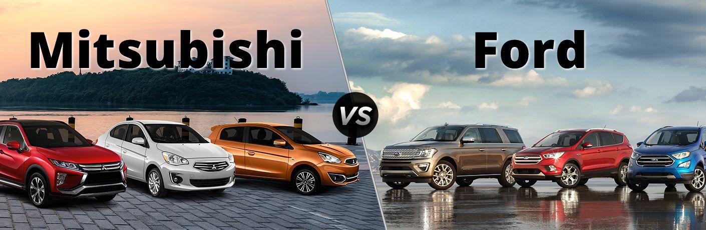 Mitsubishi VS Ford
