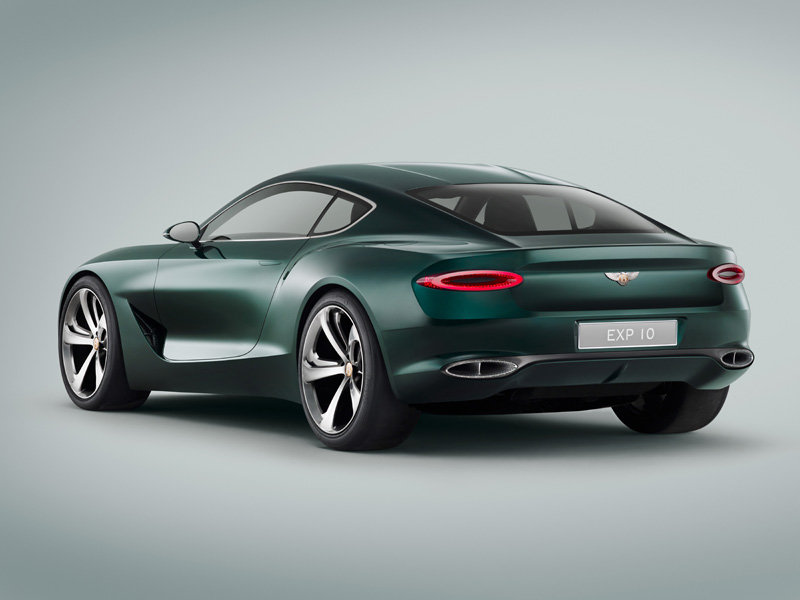 2015 Bentley EX10 Speed 6 concept