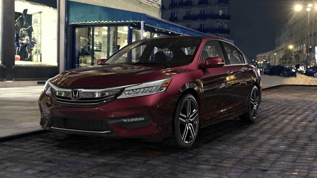 2016 honda accord mid size sedan macon ga walsh honda for Burgundy honda accord