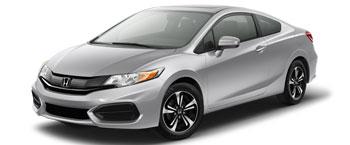 2015 Honda civic Coupe EX