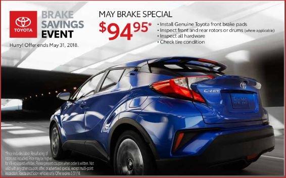 Toyota Tire Price Match
