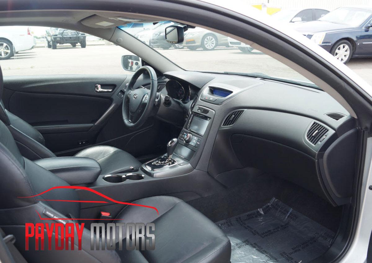 Pre-owned - Hyundai Genesis Interior from Payday Motors Wichita KS