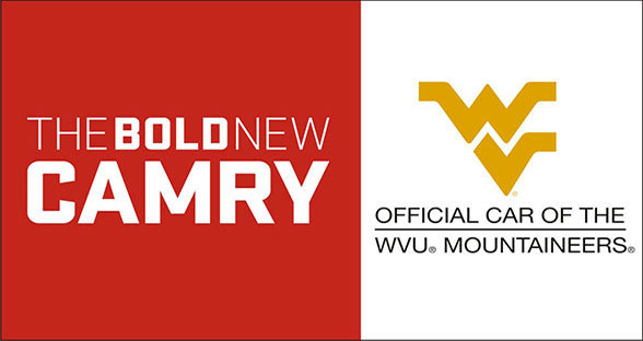 The Toyota Camry is now the official car of the WVU Mountaineers!  Stop by University Toyota in Morgantown, WV to test drive a Toyota Camry today!