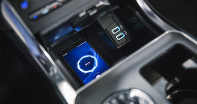 2019 Ford Edge wireless charging