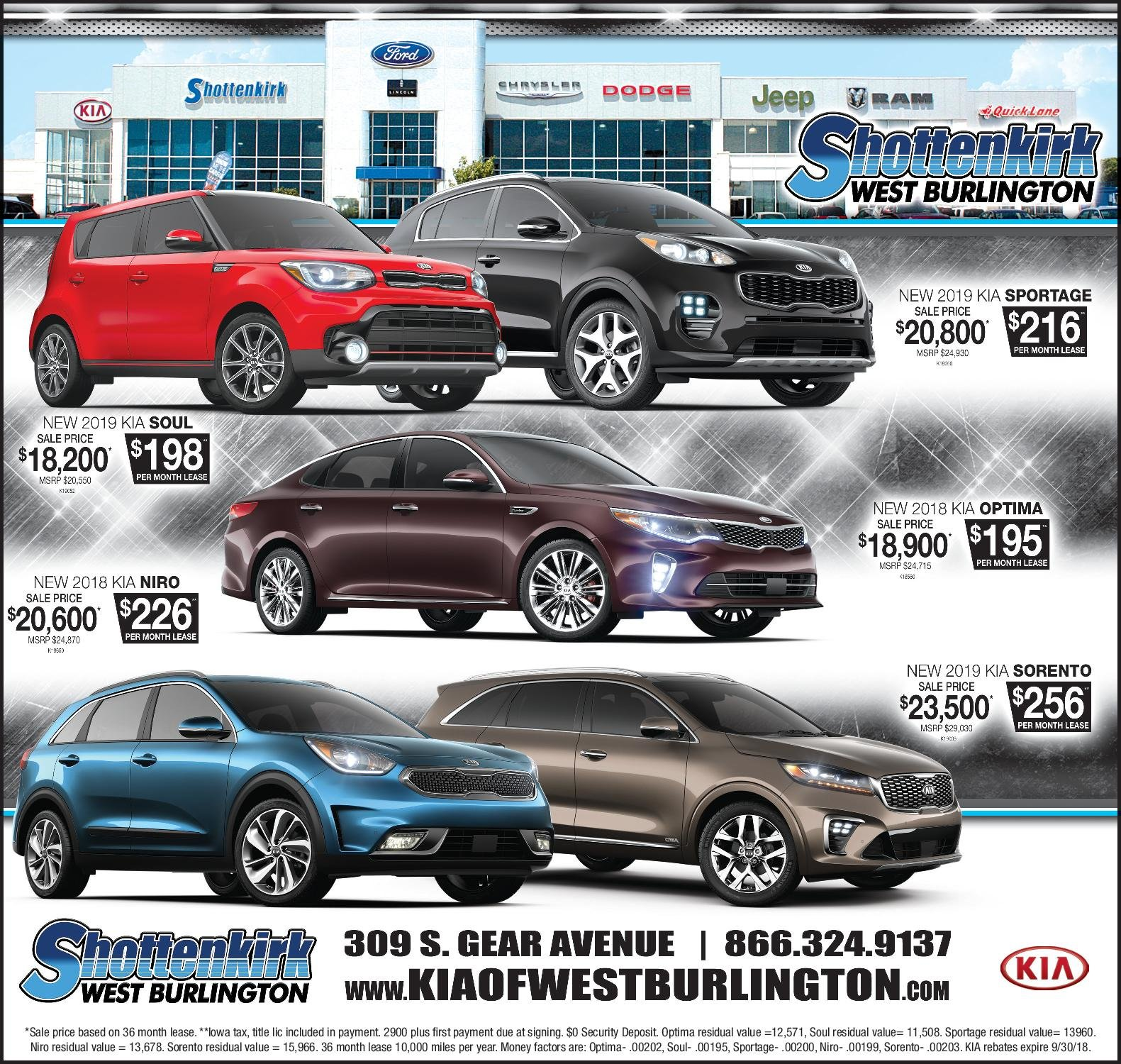 West Burlington Lincoln, Jeep, Kia, Chrysler, Dodge, Jeep