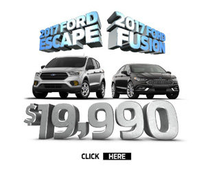 2017 Ford Escape & 2017 Ford Fusion