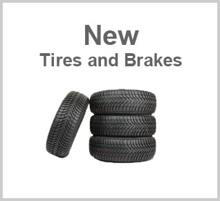 New Tires and Brakes