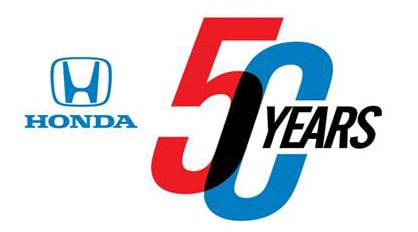celebrating 50 years of Honda sales in North America