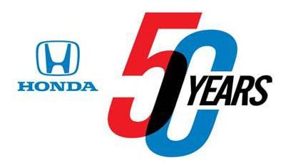 celebrating 50 years of Honda sales in North America